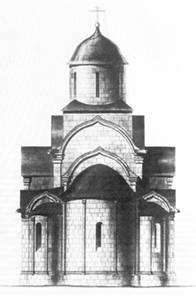 Reconstruction of the Saviour Cathedral (PN Maksimov).