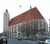 ИНГОЛЬШТАДТ / INGOLSTADT Собор (кон. XIV–нач. XVI века) / The Cathedral (end 15th–beg. 16th cent.)