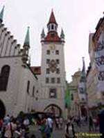 МЮНХЕН / MUNICH Старая ратуша (XIV–XV века) / Old Rathaus (14th – 15th cent.)