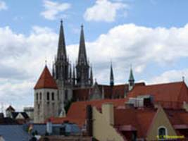 РЕГЕНСБУРГ / REGENSBURG Собор (готика) / The Cathedral (Gothic)