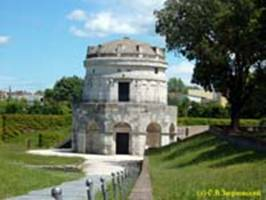 РАВЕННА / RAVENNA Мавзолей Теодориха (VI век) / Theoderic's mausoleum (6th cent.)