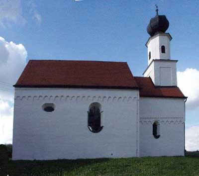The Church in Oberravelsbach (Oberrehrensbach), Bavaria