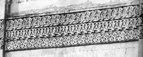 Post-Mongol decor ornamented type in the Cathedral of the Savvino-Storozhevsky monastery in Zvenigorod.