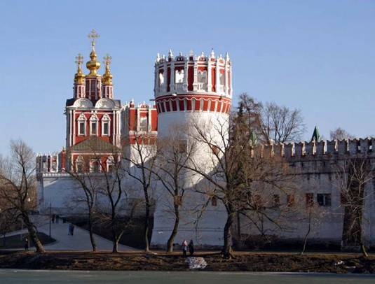 Strengthening of the Novodevichy convent