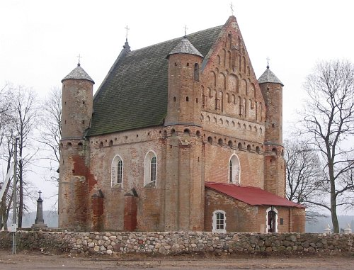 The Church in Synkovichi (Belarus).