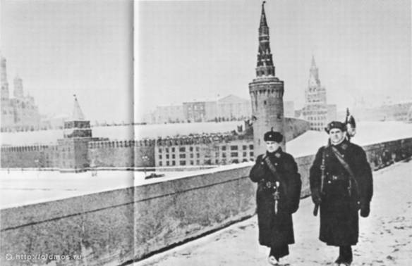 """Disguised"" the Kremlin during the great Patriotic war."