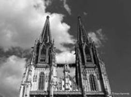 Bell-towers of the cathedral in Regensburg