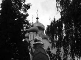 Stair to the sky (Novodevichy cloister)