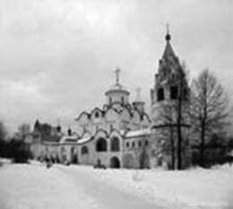 Winter in Suzdal (Pokrov cloister)