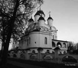 White church (Bolshie Vyazemi)