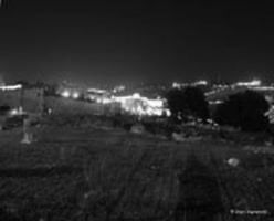 Night panorama of Old Jerusalem