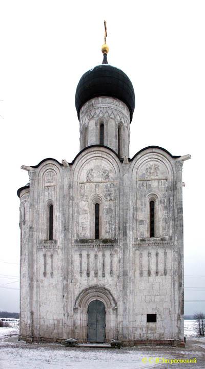 схема строения храма покрова
