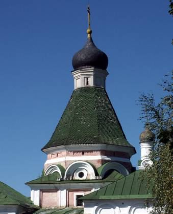 The Church of the ascension in Kolomenskoye.
