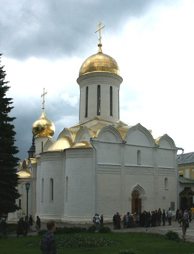 Trinity Cathedral in the Trinity-Sergius Lavra.