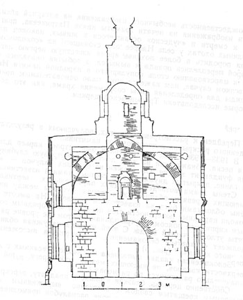 The Church Trifon Naprudnom. The section on North-South (by L. David).