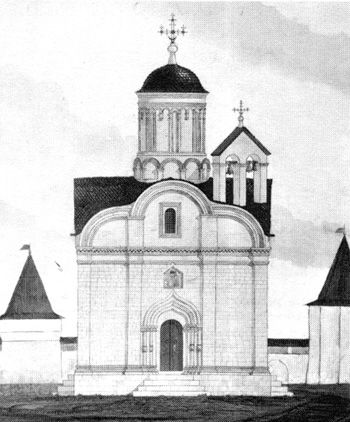 "The Church of the Conception Anna ""in the Corner"". Reconstruction Of David L.."