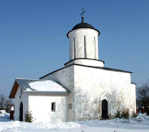 Cathedral of Nativity of the Virgin in Suzdal. General view.