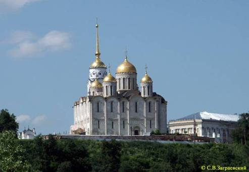 Assumption Cathedral in Vladimir.