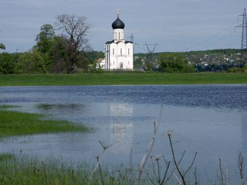 The Church of the Intercession on the Nerl