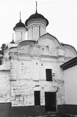The Church of the Conception of John the Baptist in the Settlement. General view.