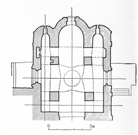 The plan of the upper house in Gorodnya.